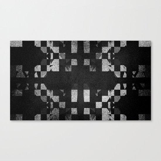 SHAD█WS Canvas Print