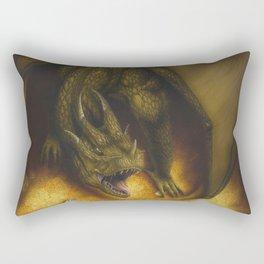 El tesoro del dragon Rectangular Pillow