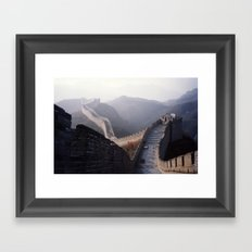 Great Wall Framed Art Print
