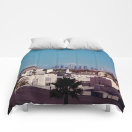 Hollywood to Downtown Los Angeles Comforters