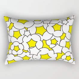 Bursted popcorn pattern Rectangular Pillow