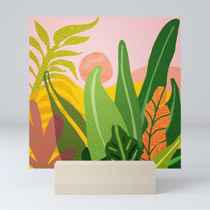 Jungle Morning Mini Art Print