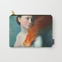 Portrait of a Heart Carry-All Pouch