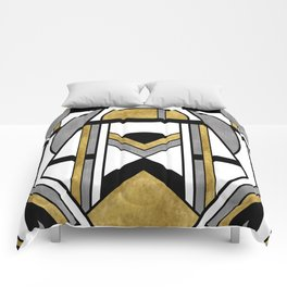Up and Away - Art Deco Spaceman Comforters