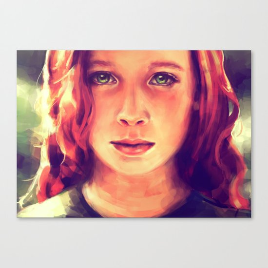 Look at me... Canvas Print