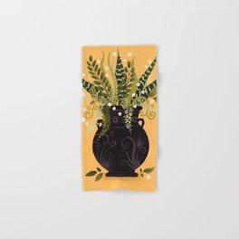 Black Vase I Hand & Bath Towel