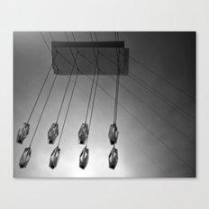 chandelier Canvas Print