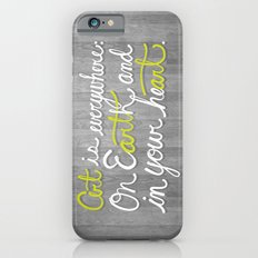 Art is everywhere: On Earth and in your heart. Slim Case iPhone 6s