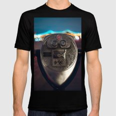 Night Owl Mens Fitted Tee Black MEDIUM
