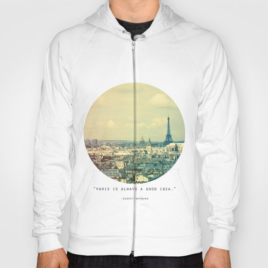 Pale Paris Hoody