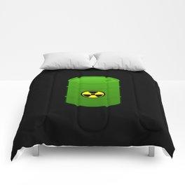 atomic waste barrel Comforters