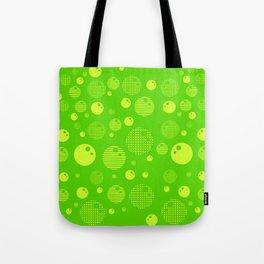 Bubblemagic - Lime Tote Bag
