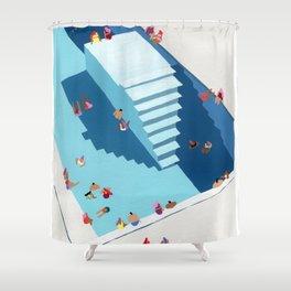 Meetup Shower Curtain