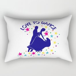 Love to dance Rectangular Pillow