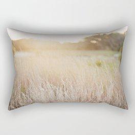 Golden Wheat Rectangular Pillow