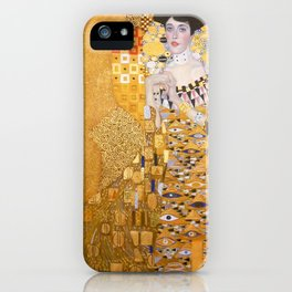 Gustav Klimt - The Woman in Gold iPhone Case