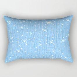 Twinkle Abstract Art Rectangular Pillow