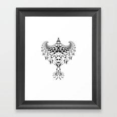Tribal Eagle Framed Art Print