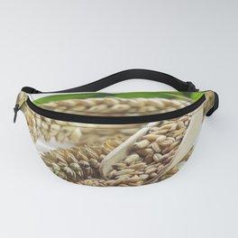 fresh wheat grains for baking Fanny Pack