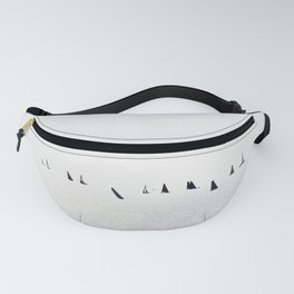 Sailboats regatta seascape Fanny Pack