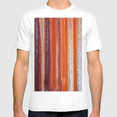Sunstripes Mens Fitted Tee White MEDIUM