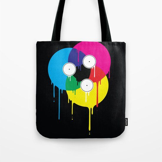 Melting Vinyl Tote Bag
