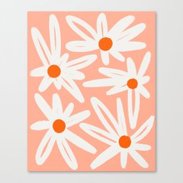 Happy Daisies Canvas Print