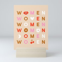 Women Mini Art Print