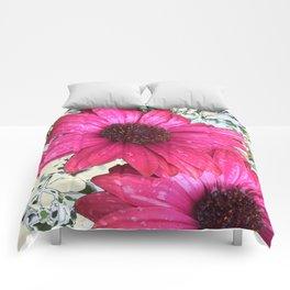 Garden Blooms - Pink  Comforters