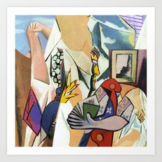Mixed Picasso · 3 Art Print