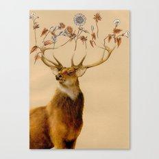 Holistic Horns Canvas Print