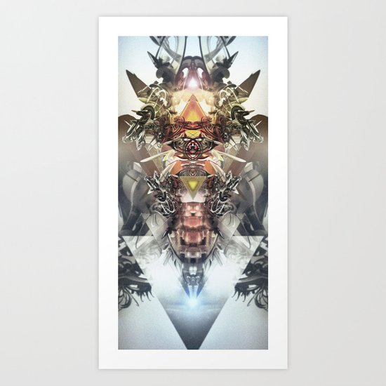 Avenging Angel Art Print