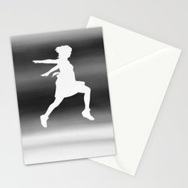 Body Movin - Jump BW Inverse Stationery Cards