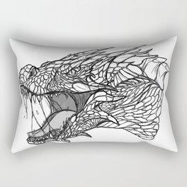 Dragon Sketch Rectangular Pillow