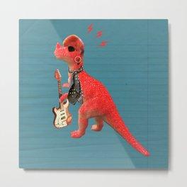 Dino Bowie Metal Print