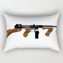 Tommy Gun Rectangular Pillow