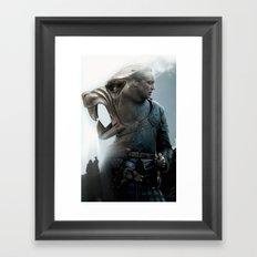 The Hound's Fall Framed Art Print