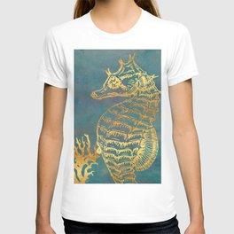 Deep Sea Life Seahorse T-shirt