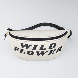 Wild Flower - Retro Fanny Pack