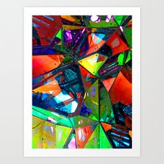 Jagged Little Morning Art Print