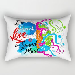 2 Timothy 1:7 Rectangular Pillow