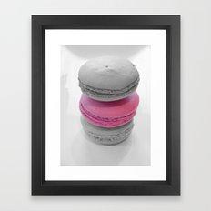 Macaroons Framed Art Print