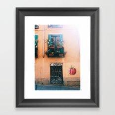 Madrid - Embajadores Framed Art Print