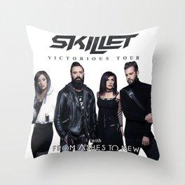 SKILLET - VICTORIOUS TOUR 2020 Throw Pillow