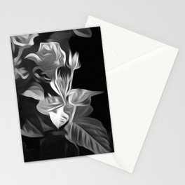 A Lone Flower Stationery Cards