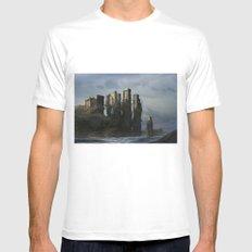 Sea Castle MEDIUM Mens Fitted Tee White