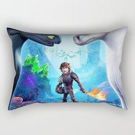 How To Train Your Dragon The Hidden World Rectangular Pillow