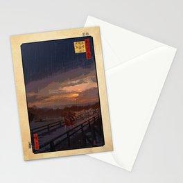 Sudden Shower Remake Stationery Cards