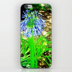 PurpleFlowers2 iPhone & iPod Skin