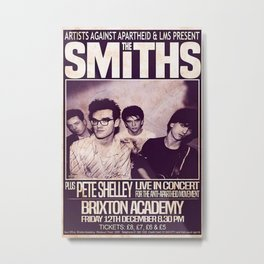 The Smiths 1986 The Final Concert Metal Print